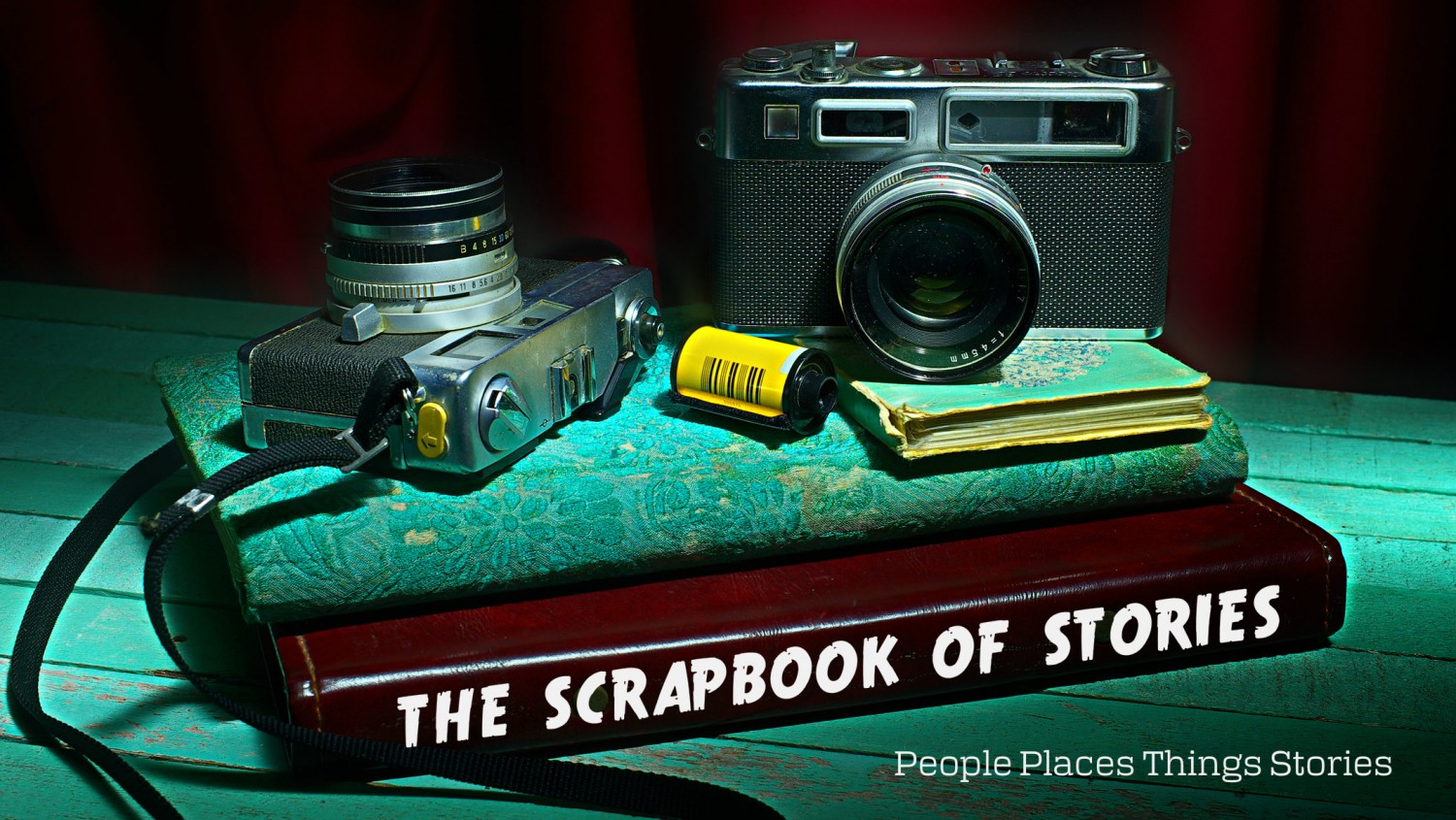the scrapbook of stories